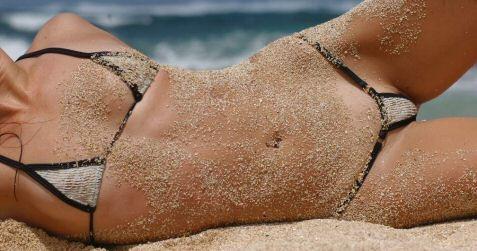 fishnet bikini